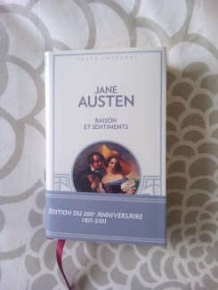 jane austen raisons sentiments